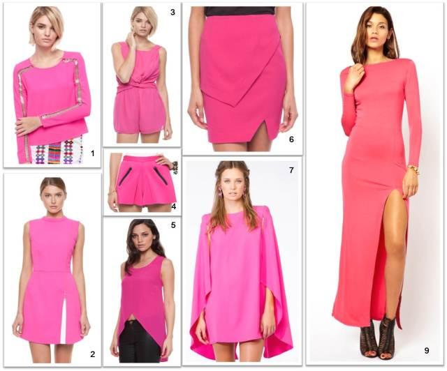 Pink - Jewel tone